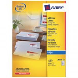 Avery Labels 21Tv  Wht Inkjet  J8160-100