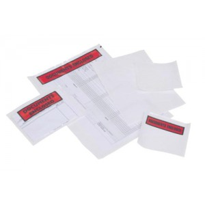 Packing-list Envelopes Polythene-front A4/C4 Documents Enclosed 328x235mm Code PLE-DOC-A4