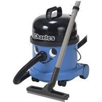 Numatic Charles Vacuum Cleaner Wet and Dry 1200W 15L Dry 9L Wet 7.1Kg Blue Code A10X