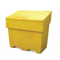 Image for Charles Bentley Grit and Salt Bin Polyethylene Capacity 350kg Weight 22kg Ref SPC/GRIT400