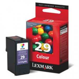 Lexmark No.29 Inkjet Cartridge Return Program Colour Code 18C1429E