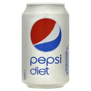 Britvic Diet Pepsi Soft Drink 330ml Can x24 Pack