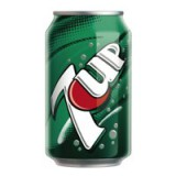 Britvic 7UP Regular Soft Drink 330ml Can x24 Pack