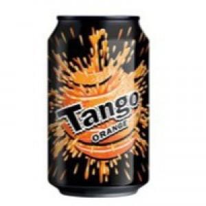 Britvic Tango Orange Soft Drink 330ml Can Pack 24