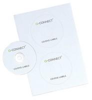 Q-Connect Full Face CD Label Pk100