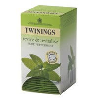 Twinings Infusion Tea Bags Individually-wrapped Peppermint Ref A00810 [Pack 20]