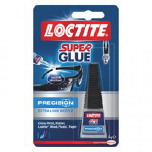 Loctite Super Glue Precision Bottle with Extra-Long Nozzle 5g Code 80001611