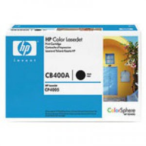 Hewlett Packard [HP] No. 642A Laser Toner Cartridge Page Life 7500pp Black Ref CB400A
