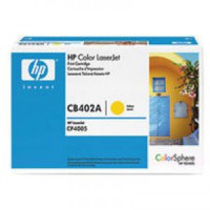 HP No.642A Toner Cartridge Yellow Code CB402A