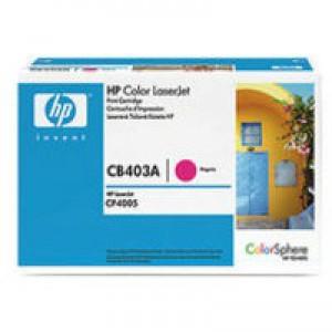 Hewlett Packard [HP] No. 642A Laser Toner Cartridge Page Life 7500pp Magenta Ref CB403A