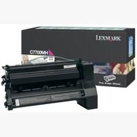 Lexmark C770 Return Programme High Yield Toner Cartridge Magenta C7700MH