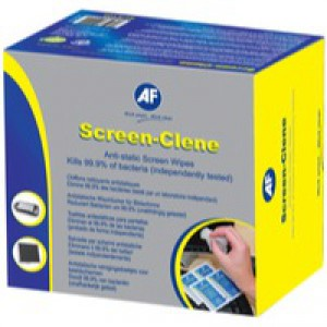 AF Screen Clene Duo Wet/Dry Wipe Pack of 20 ASCR020
