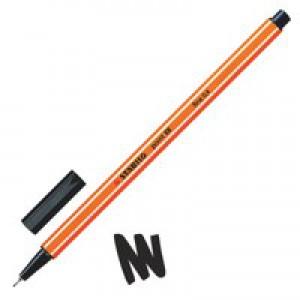 Stabilo Point 88 Fineliner Pen Blk 88/46