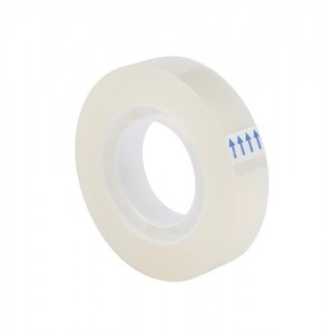 5 Star Easy Tear Clear Tape 12mmx33M