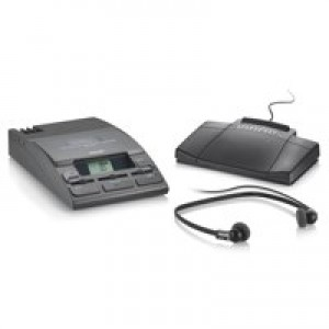 Philips Transcription Kit of Machine 155 Power Supply 234 Headset and 210 Foot Control Code LFH720T