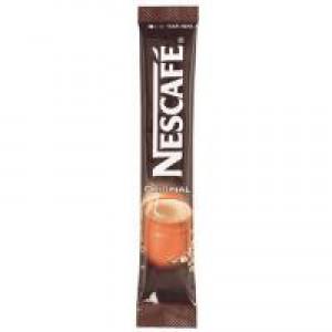 Nescafe Original Instant Coffee Granules Stick Sachets Pack 200 Code A00959