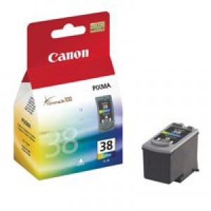 Canon CL-38 Inkjet Cartridge Page Life 205pp Colour Ref 2146B001