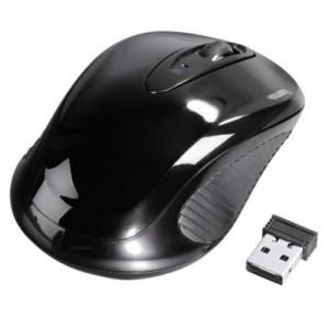 Hama AM-7200 Mouse Three-Button Scrolling Wireless 2.4GHz Optical 800dpi Range 8m Ref 86532