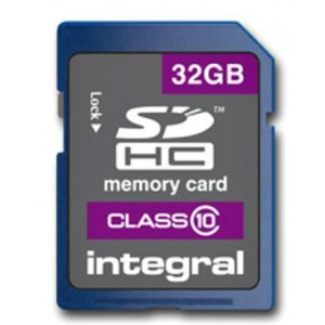 Integral Ultima Pro SDHC Memory Card with Protective Case Class 10 23MB/s 32GB Ref INSDH32G10-20
