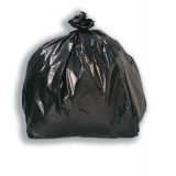 5 Star Bin Bags Economy 100 Gauge 457x737x864mm Black Ref XVF [Pack 200]