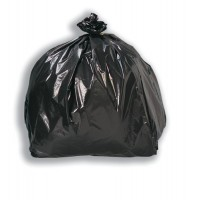 Image for 5 Star Bin Bags Economy 100 Gauge 457x737x864mm Black Ref XVF [Pack 200]