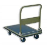 RelX Platform Truck Heavy-duty Capacity 300kg Baseboard W616xL916mm Blue and Grey Ref PH300 [324580]
