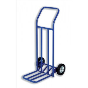 RelX Hand Trolley General Capacity 160kg Wheel 205mm Foot Size W565xL640mm Blue Ref HT1585 [287998]