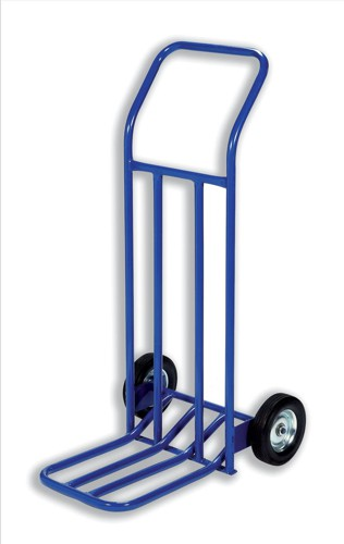 RelX Hand Trolley General Capacity 160kg Wheel 205mm Foot Size W565xL640mm Blue Ref HT1585 [287998]