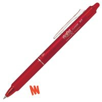 Pilot Frixion Clicker Retractable Rollerball Pen 0.7mm Red 229101202