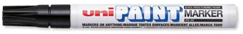 uni Paint Marker Bullet Tip Medium Point Px20 Line Width 2.2-2.8mm Black Ref 9001922 [Pack 12]