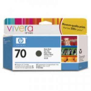 Hewlett Packard No70 Inkjet Cartridge 130ml Black C9448A