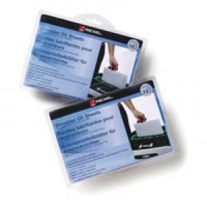 Rexel Shredder Oil Sheets 12 Pack Code 2101948