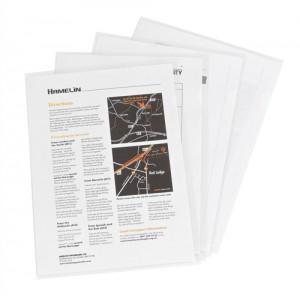 Elba Cut Flush Folder Clear Pack 100 Code 100206548