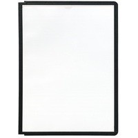 Durable Sherpa Display Panel A4 Black 5606/01