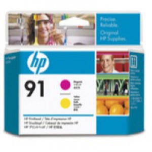 Hewlett Packard No91 Print Head Magenta/Yellow C9461A