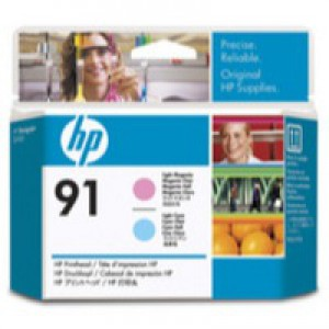Hewlett Packard No91 Print Head Light Magenta/Light Cyan C9462A