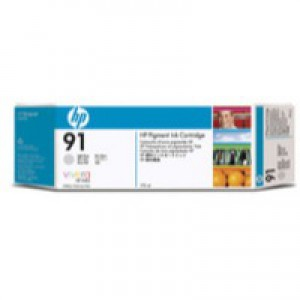Hewlett Packard No91 Inkjet Cartridge Light Grey C9466A