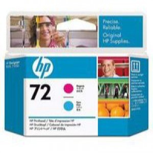 Hewlett Packard [HP] No. 72 Inkjet Cartridge Magenta & Cyan Ref C9383A