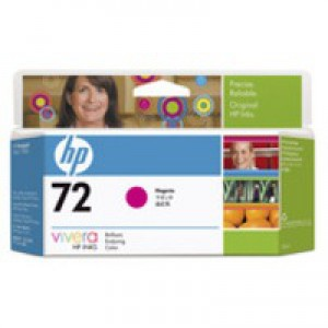 HP No.72 Inkjet Cartridge 130ml Magenta Code C9372A