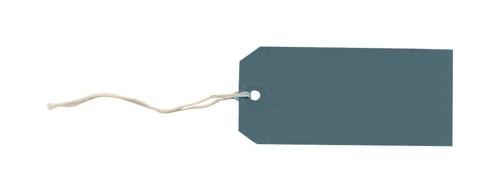 Tag Labels Strung Bulk Boxes Dark Blue [Pack 1000]