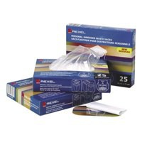 Rexel Waste Sacks Polypropylene Extra Strong 80L [for AS1000 Shredder] Ref 40070 [Pack 100]