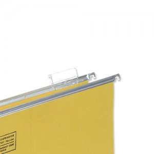 5 Star Tabs Plastic for Clenched Bar Suspension File Clear Ref 100331402 [Pack 50]