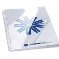 GBC A4 Binding Covers 200micron Premium PVC Clear Pack 100 Code CE012080E