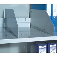 Bisley Dividers for Slotted Shelf Grey Ref BSD [Pack 5]