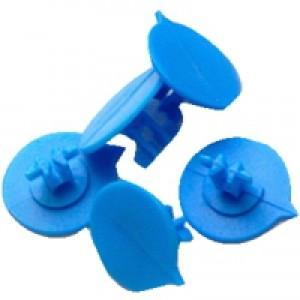 Versapak Button Seals Blue for Versapak Mailing Pouches Ref IMSEALBL [Pack 500]
