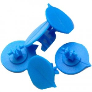 Versapak Button Seals Blue for Versapak Mailing Pouches Ref IMSEALBL [Pack 500]