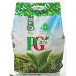 PG Tips Tea Bags Pyramid 1 Cup Pack 1150 Code A00792