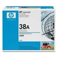 Hewlett Packard [HP] No. 38A Laser Toner Cartridge Page Life 12000pp Black Ref Q1338A