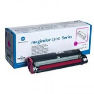 Konica Minolta Magicolor 2300 Toner Cartridge Standard Capacity Magenta 1710517-003