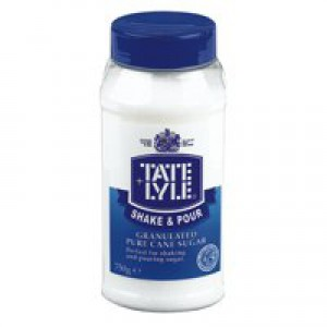 Tate and Lyle White Sugar Tub Dispenser 750g Ref A03907
